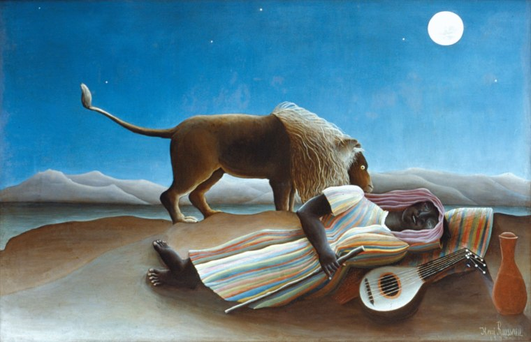 Michael Steinberg on Rousseau's Sleeping Gypsy