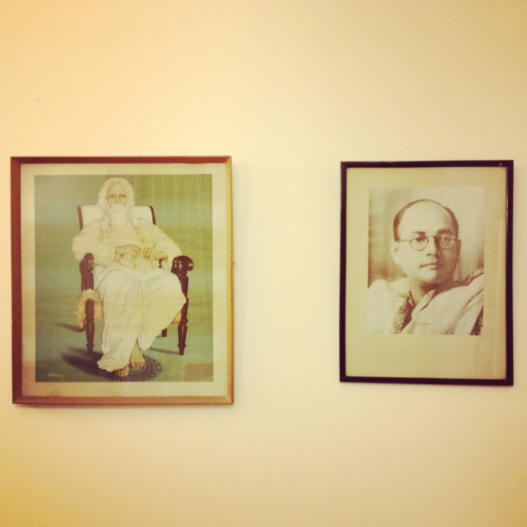 Ronojoy Dam chose these portraits from his parent's home
