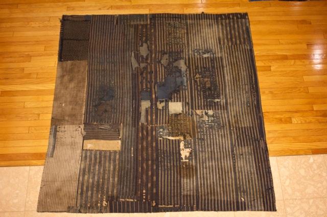 Jarrett Reynolds chose a Japanese Boro rug