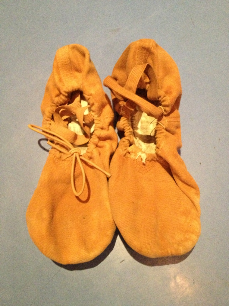 Eric Underwood's ballet shoes