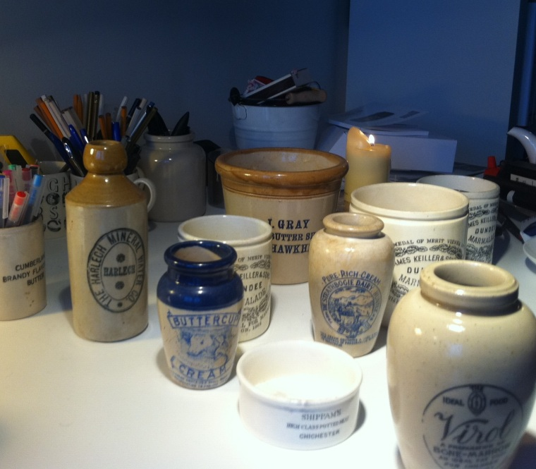 Jeremy Lee's storage jars