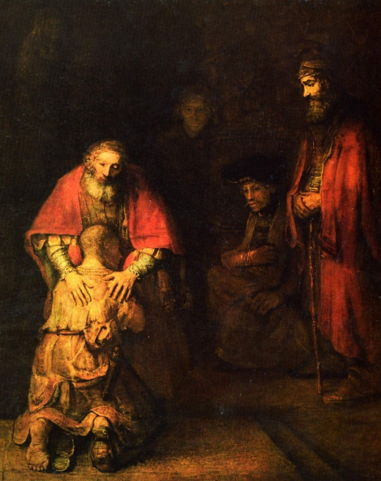 Rembrandt's 'Return of the Prodigal Son' chosen by Michael Morris