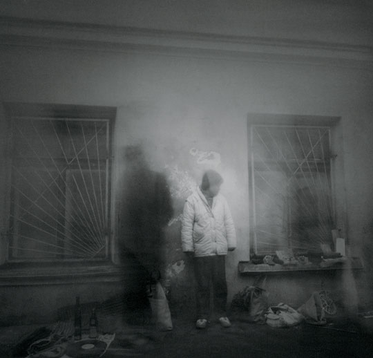 Untitled, by Alexey Titarenko, 1994. From the series 'City of Shadows'