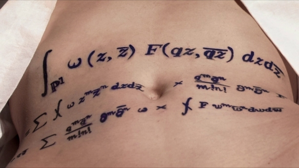 A still from Edward Frenkel's film, 'Rites of Love and Math'
