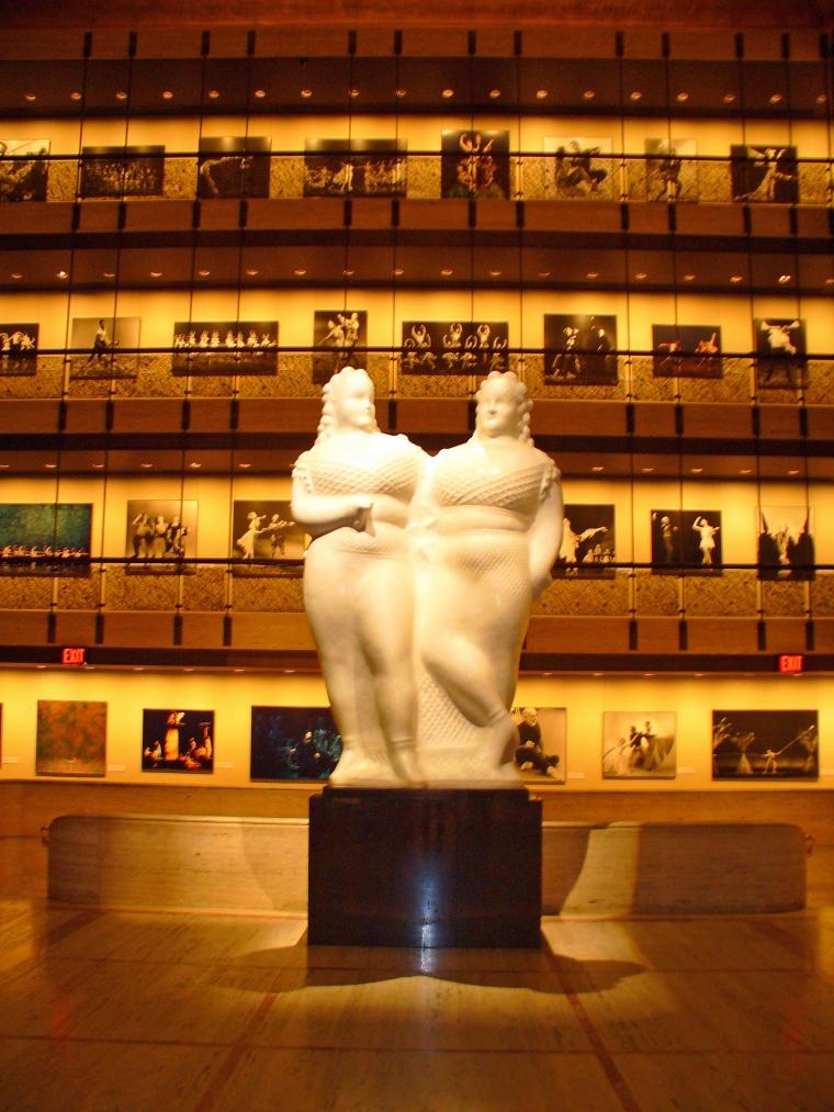Gary Card chose a sculpture after Elie Nadelman's 'Circus Women'