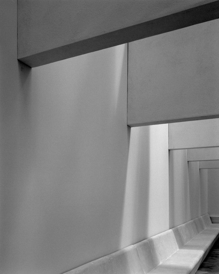 Installation by Grafton Architects with lighting design by Shizuka Hariu. (c) Hélène Binet