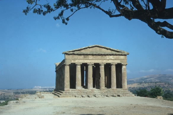 The Temple of Concordia from ancient Akragas