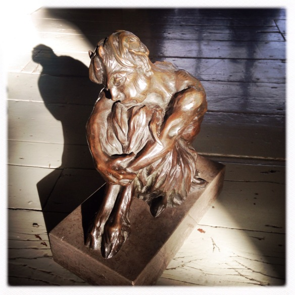 Simon Costin's bronze satyr