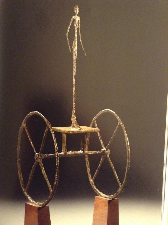 Alberto Giacometti's Chariot