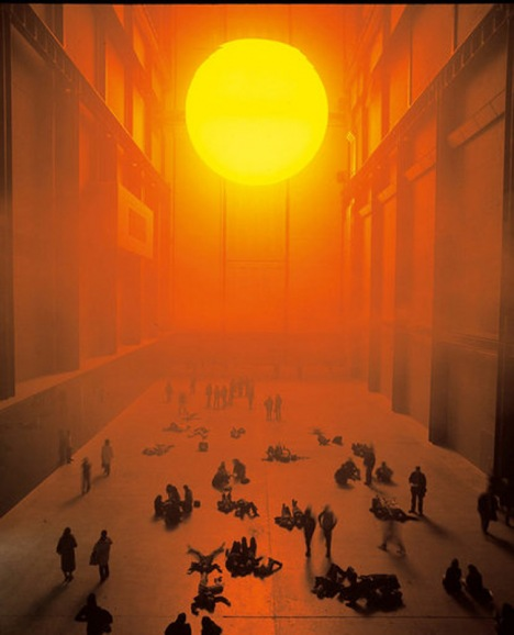 The Weather Project by Olafur Eliasson, 2003, picture by Tate Photography ©Olafur Eliasson