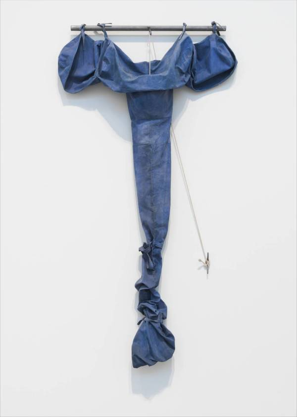 Soft Drainpipe - Blue (Cool) Version 1967 Claes Oldenburg born 1929 Purchased 1970 http://www.tate.org.uk/art/work/T01257